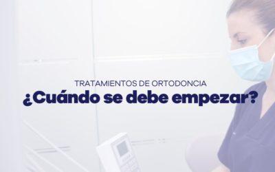 Tratamientos de ortodoncia. ¿Cuando empezar?
