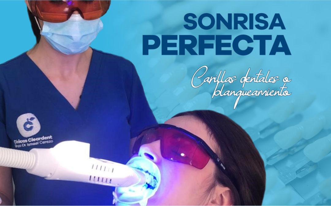Sonrisa Perfecta ¿Carillas dentales o blanqueamiento?